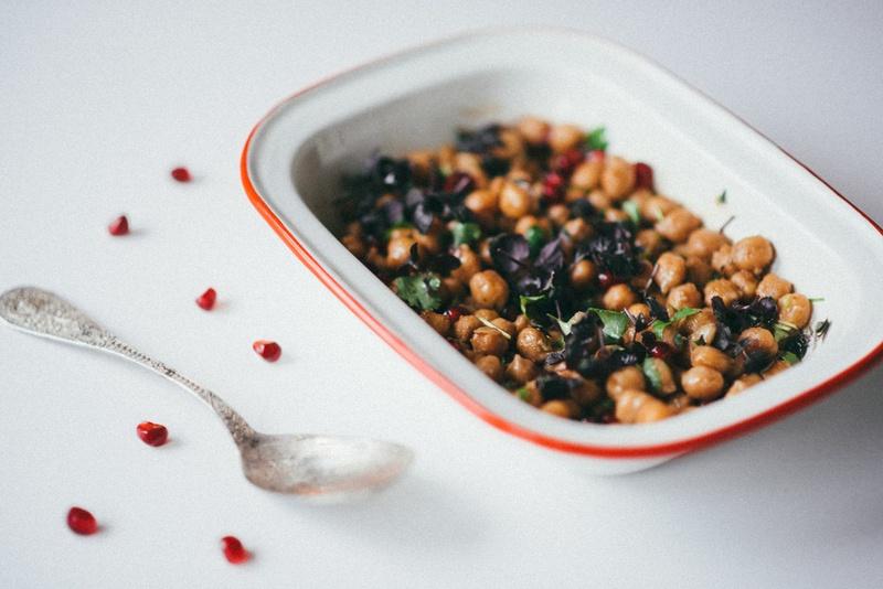 Rezept Winterlicher Salat aus Kichererbsen