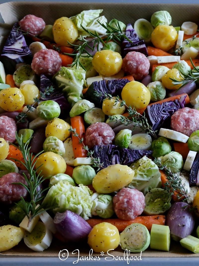 Rezept Winterliches Ofengemüse