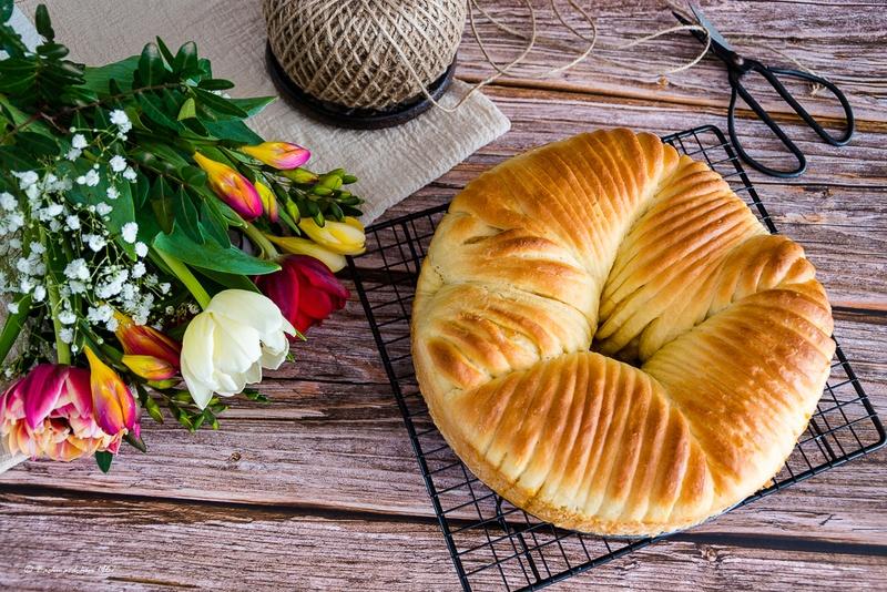 Rezept Wollknäuel Brot/Wool Roll Bread