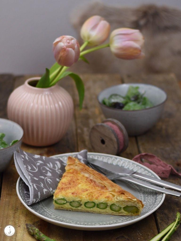 Rezept Yufka-Tarte mit grünem Spargel