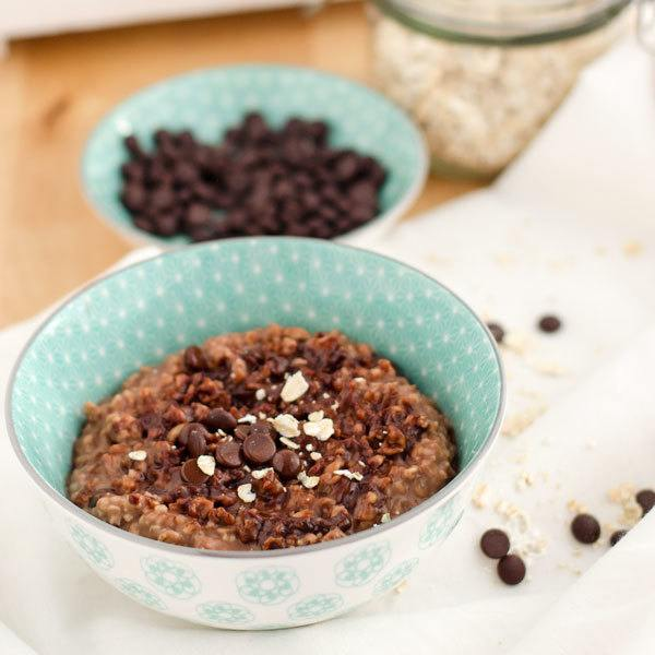 Rezept yummy chocolate-oatmeal-pudding