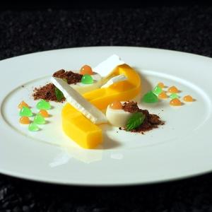 Rezept Yuzu, Kokos, Guave & Pfefferminze