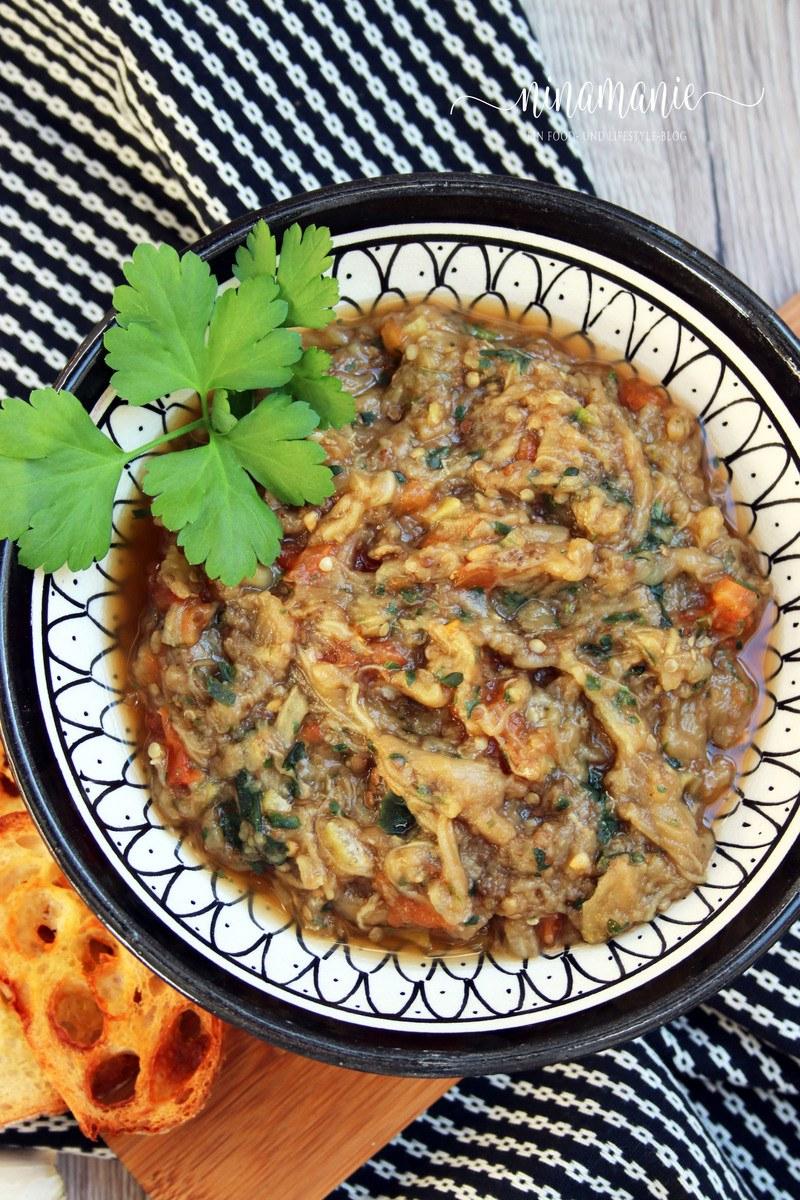 Rezept Zaalouk - marokkanischer Auberginen-Salat