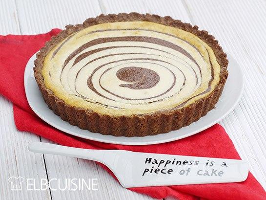Rezept Zebra-Torte als Cheesecake – lecker und low-carb