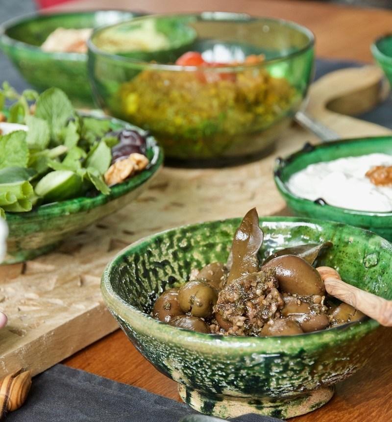 Rezept Zeytoon Parvardeh - Marinierte Oliven nach persischer Art