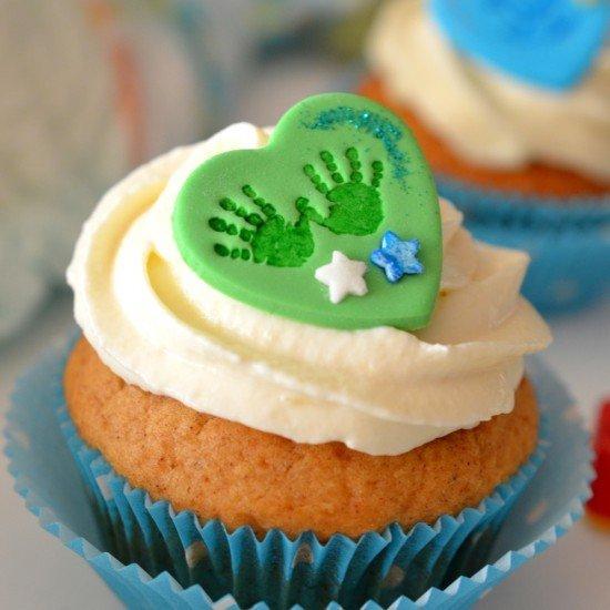 Rezept Zimt-Cupcakes mit Marzipan-Mascarpone-Frosting