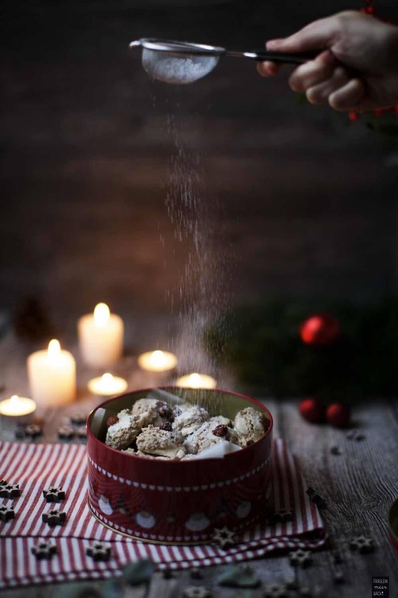 Rezept Zimtkugeln mit ganzen Haselnüssen