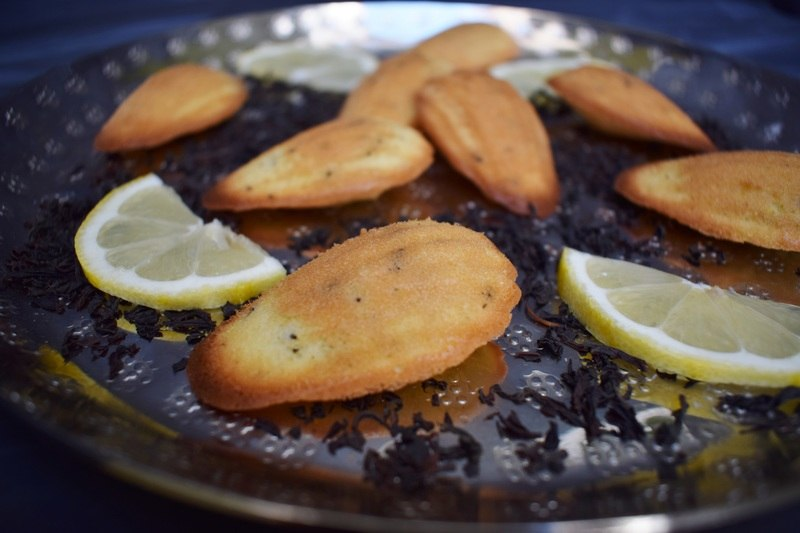 Rezept Zitrone Earl Grey Madeleines