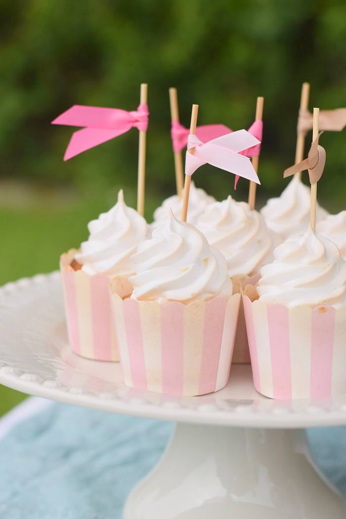 Rezept Zitronen Baiser Cupcakes