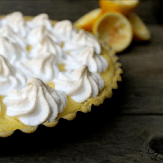 Rezept Zitronen-Baiser-Tarte