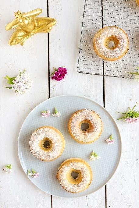 Rezept Zitronen-Buttermilch-Donuts