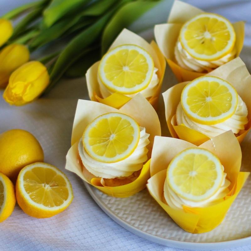 Rezept Zitronen Cupcakes
