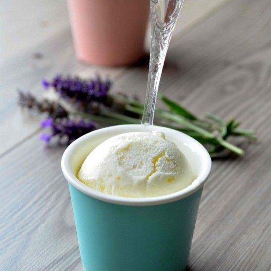 Rezept Zitronen Frozen Yogurt