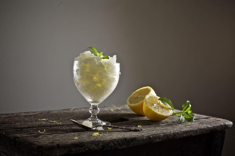 Rezept Zitronen-Granita