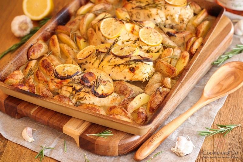 Rezept Zitronen-Huhn mit Honig
