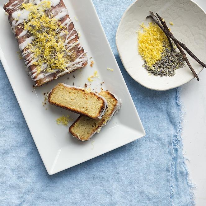 Rezept Zitronen-Lavendel-Kuchen