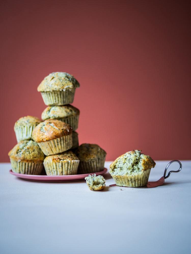 Rezept Zitronen-Mohn-Muffins nach A Kitchen Addiction