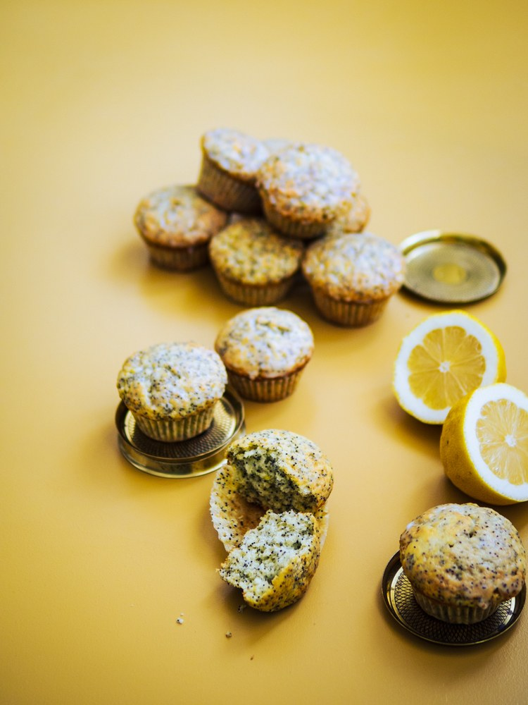 Rezept Zitronen-Mohn-Muffins nach Bake to the Roots