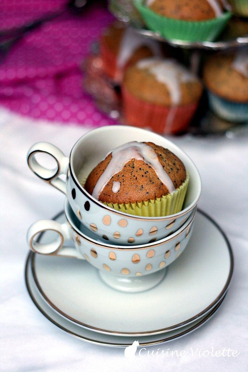 Rezept Zitronen-Mohn-Muffins