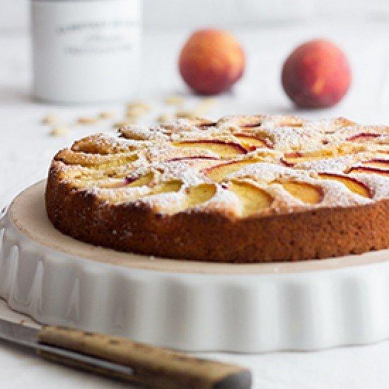 Rezept Zitronen-Pfirsich-Kuchen