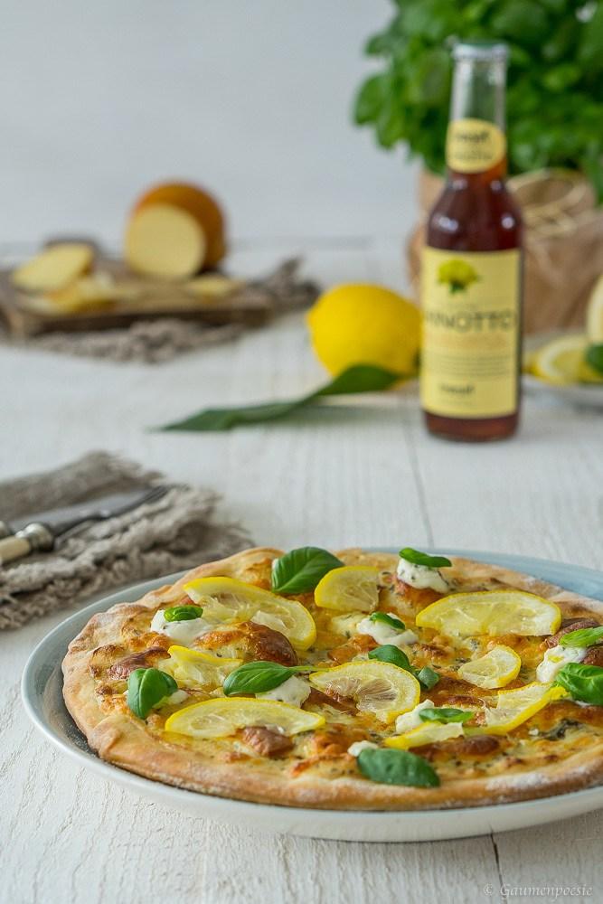 Rezept Zitronen Pizza