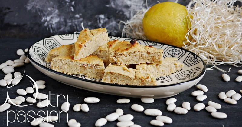 Rezept Zitronen-Protein-Schnitten