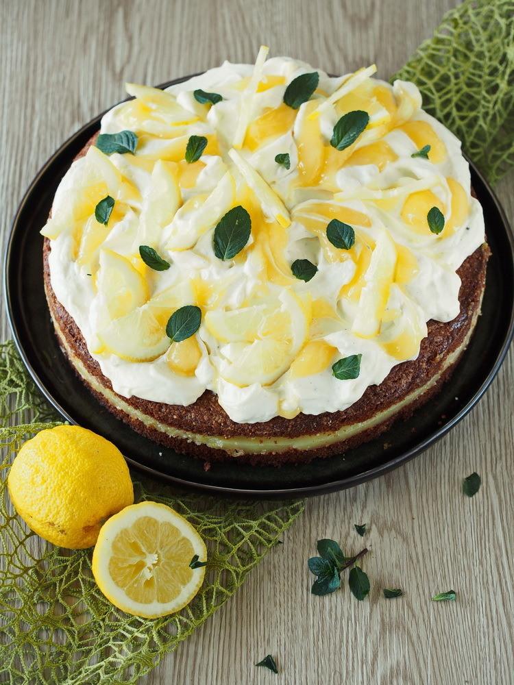 Rezept Zitronen-Quark-Torte