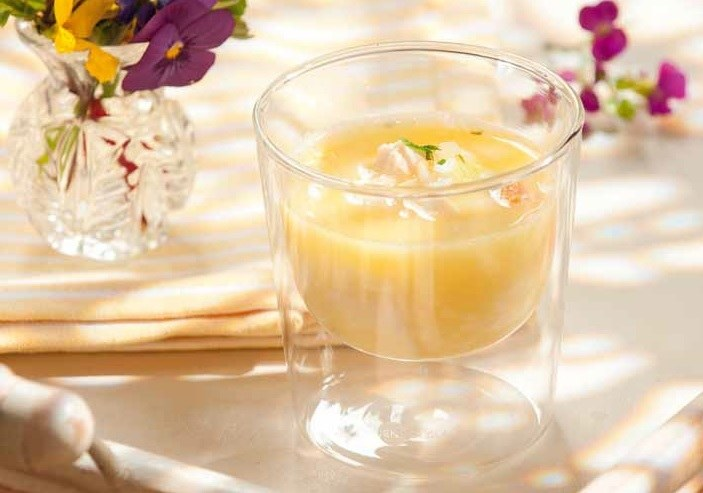 Rezept Zitronen Suppe mit Huhn