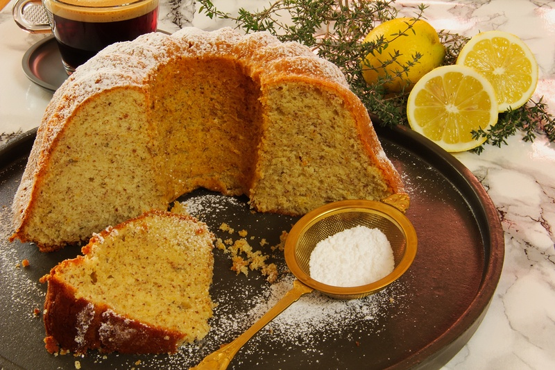 Rezept Zitronen-Thymian-Kuchen