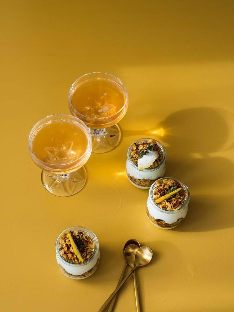 Rezept Zitronen-Thymian-Trifle