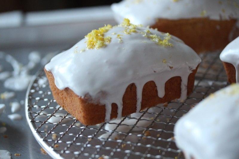 Rezept Zitronenkuchen mit Joghurtglasur
