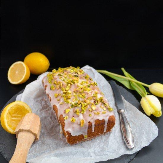 Rezept Zitronenkuchen mit Pistazien