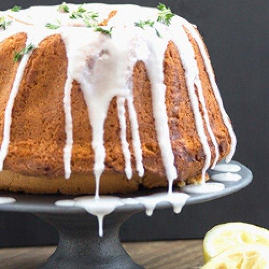 Rezept Zitronenkuchen mit Thymian