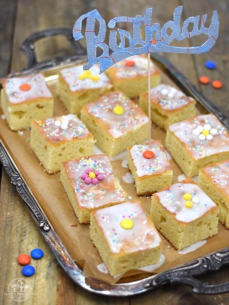 Rezept Zitronenkuchen vom Blech