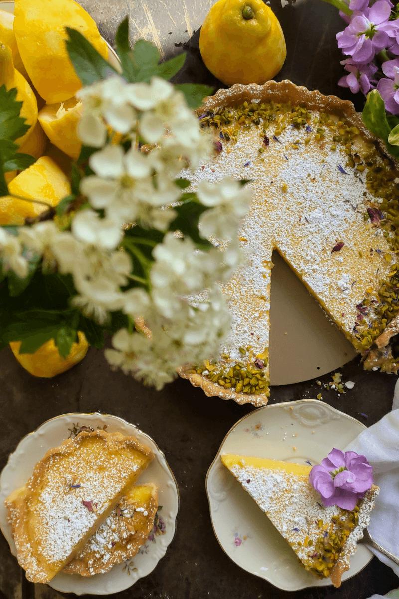 Rezept Zitronentarte – Wir holen den Sommer auf den Teller