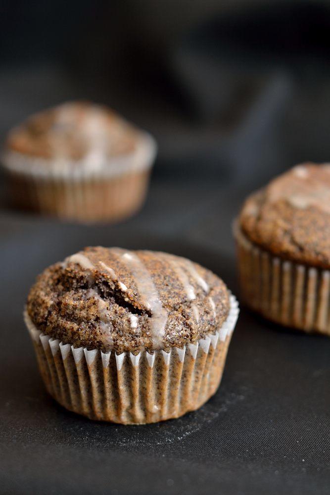 Rezept Zitronige Mohnmuffins mit extra viel Mohn