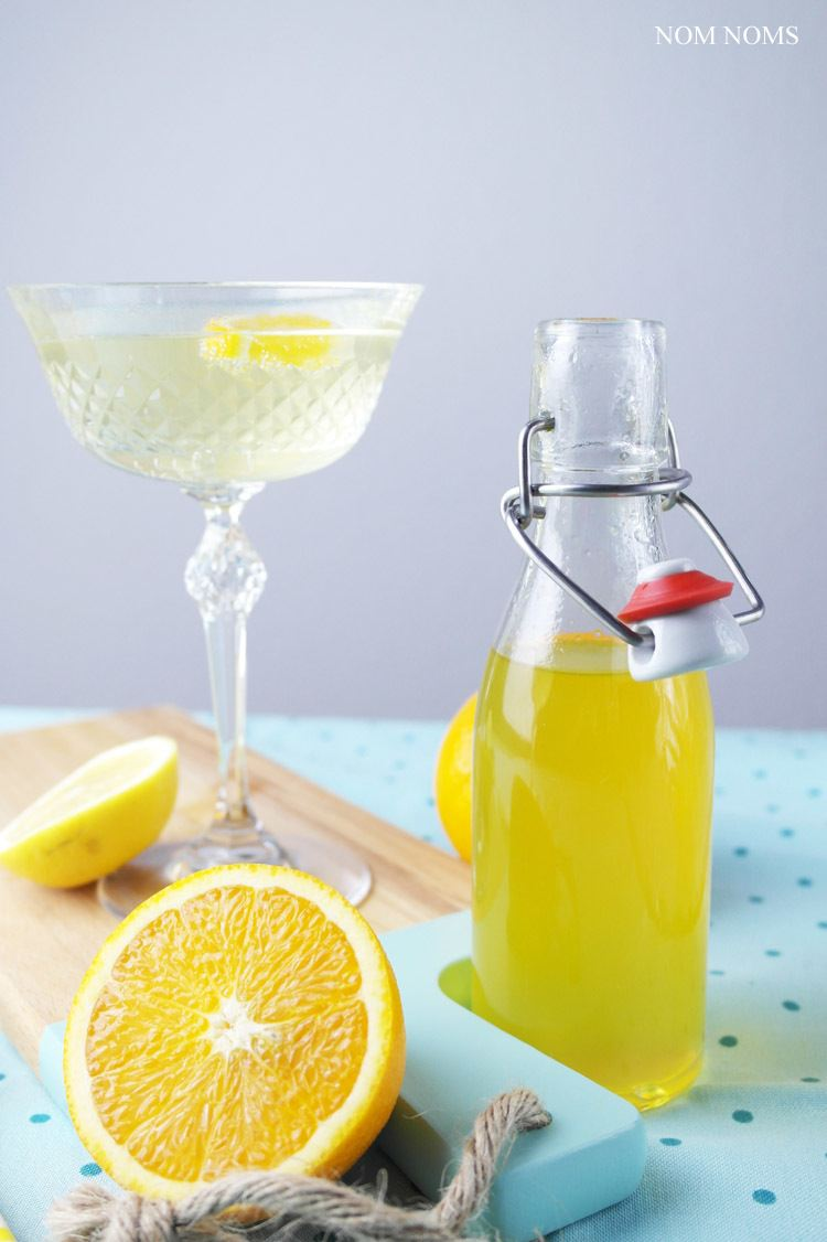 Rezept zitrus-ingwer-sirup