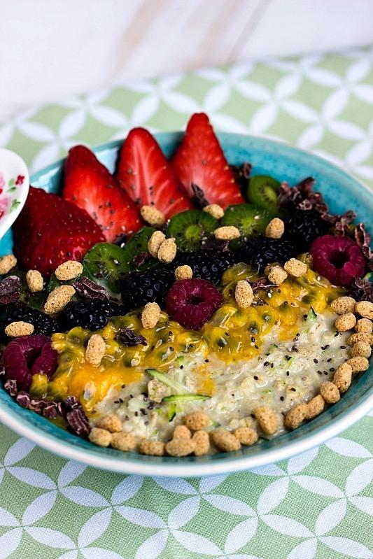 Rezept Zoats - Das gesunde Frühstück mit Haferflocken und Zucchini