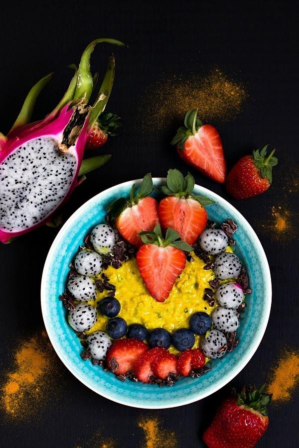Rezept Zoats mit Kurkuma - das gesunde Oatmeal