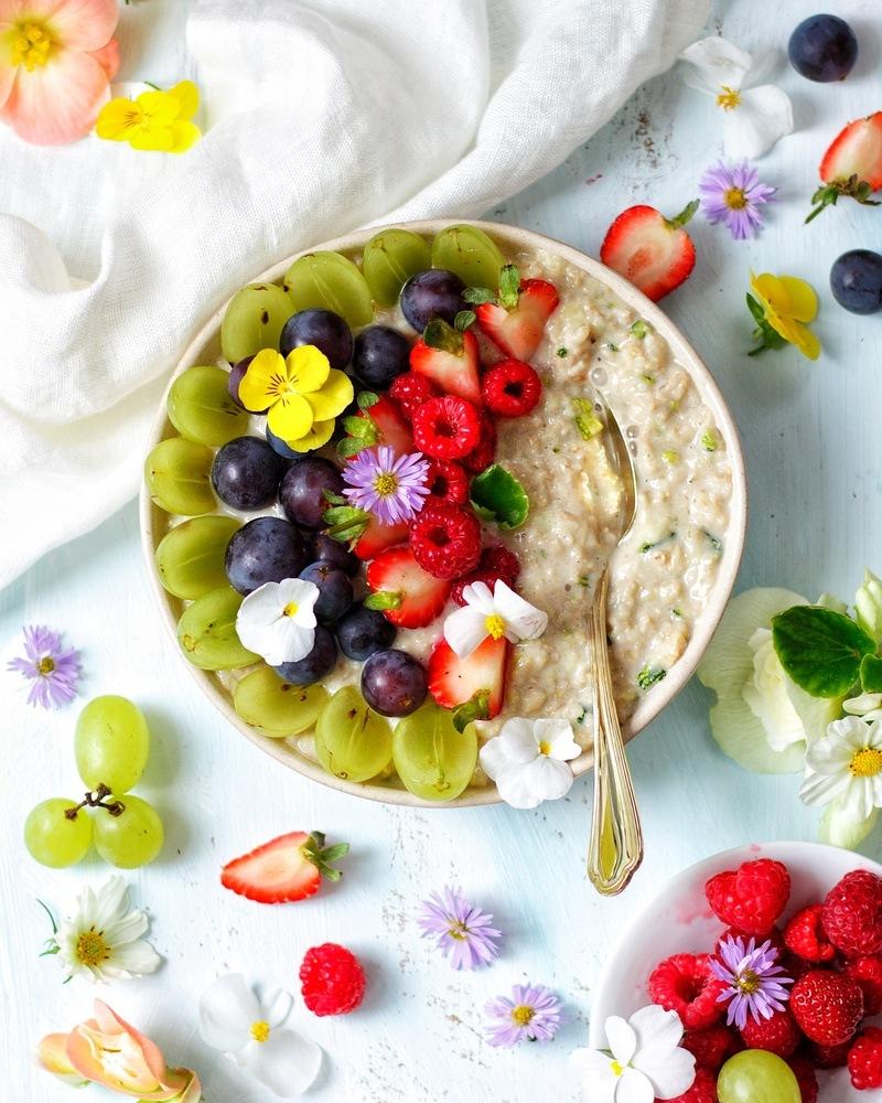 Rezept Zoats - Porridge aus Zucchini und Oats