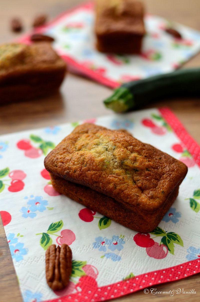 Rezept Zucchini-Bananen-Kuchen mit Pekannüssen