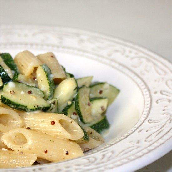 Rezept Zucchini-Carbonara