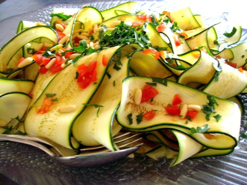 Rezept Zucchini Carpaccio
