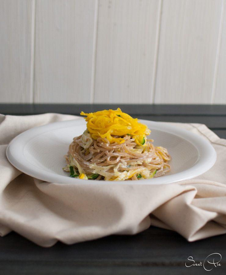 Rezept Zucchini Mandel Pasta