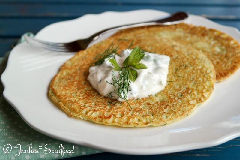 Rezept Zucchini-Pancakes