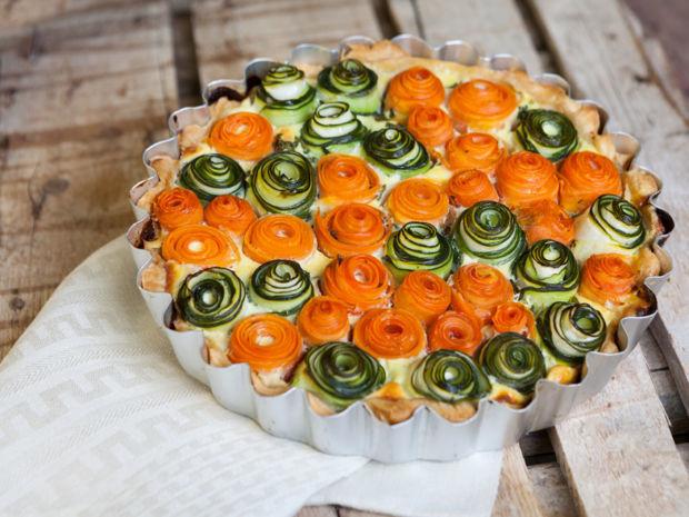 Rezept Zucchini Quiche