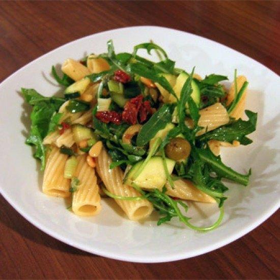 Rezept Zucchini-Rucola-Nudelsalat