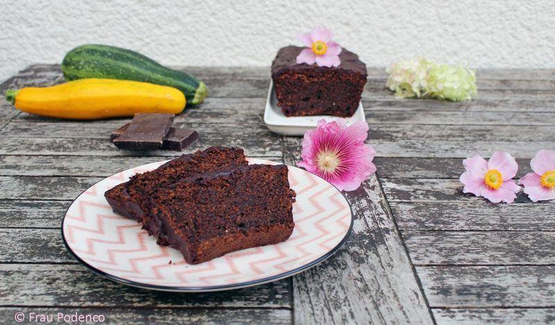 Rezept Zucchini-Schokoladenkuchen