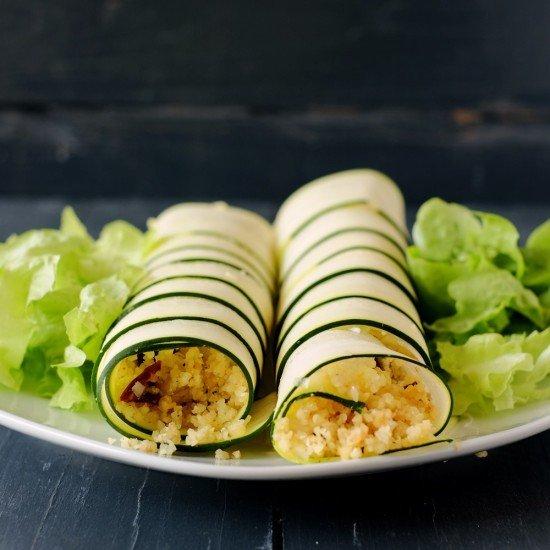 Rezept Zucchinirollen