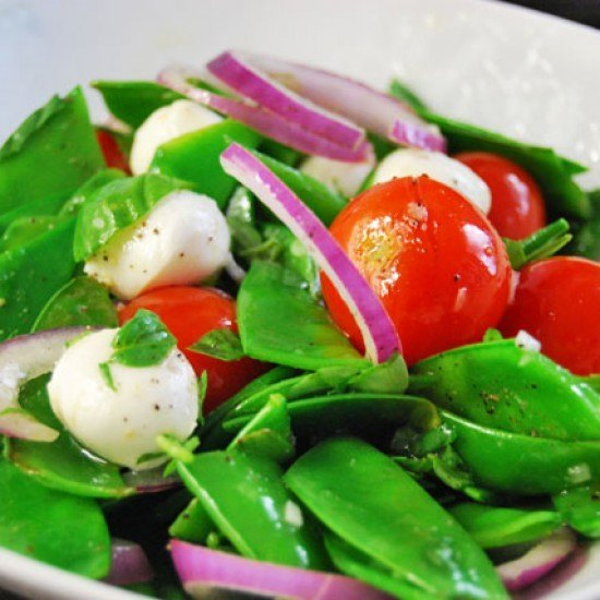 Rezept Zuckererbsen-Salat